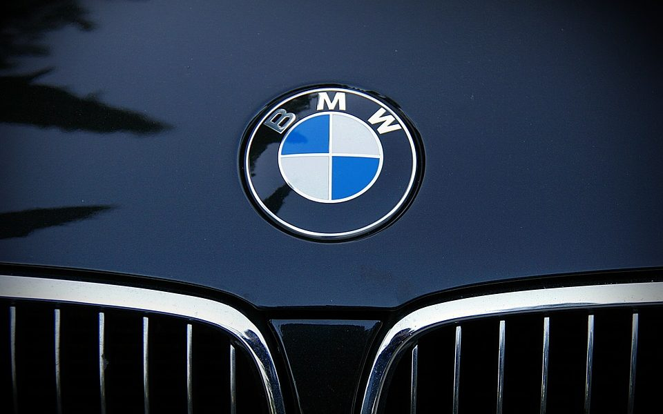 Car Brand Bmw Emblem Car Frontal Bmw