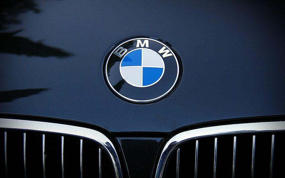 Car Brand Bmw Emblem Car Frontal Bmw